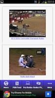 Screenshot of Rodeo News App