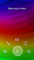 Screenshot of Rainbow Wave - Start Theme