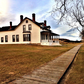 The Custer House by Dustin White - Instagram & Mobile iPhone ( state park, path, architecture, house, historic )