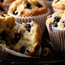 Blueberry And Lemon Muffins