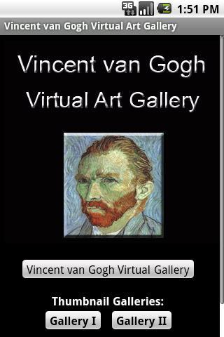 Vincent van Gogh Virtual Art