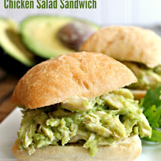 Avocado Chicken Salad Sandwich