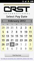 Screenshot of CRST Pay