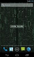 Screenshot of Matrix Stream Wallpaper Full