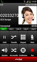 Screenshot of 3CXPhone for Phone System v11