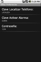 Screenshot of Encuentra tu Teléfono Android