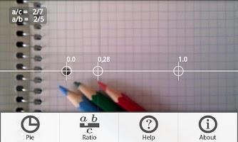 Screenshot of Pie+ camera measure
