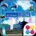 京の夏 for[+]HOMEきせかえテーマ icon