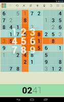 Screenshot of Sudo+ Sudoku