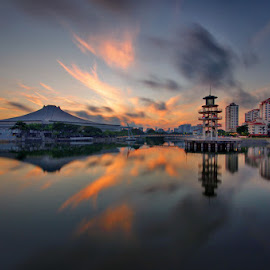 by Ken Goh - Landscapes Cloud Formations