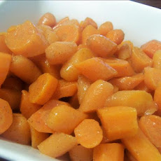 Honey-Cardamom Glazed Carrots