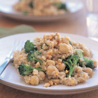 Mushroom and Broccoli Pilaf