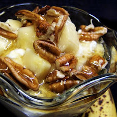 Honeyed Banana Nut Yogurt