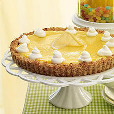 Lemon Tart with Coconut Crust