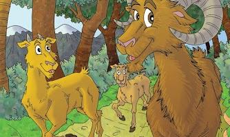 Screenshot of Os três carneirinhos