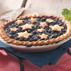 Star-Studded Blueberry Pie Recipe