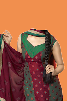 Screenshot of Salwar Kamiz Woman Photo Suit