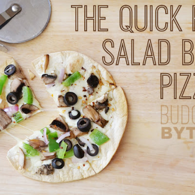 The Quick Fix Salad Bar Pizza