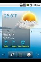Screenshot of beautiful Weather Widget