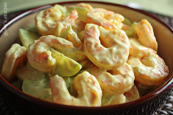 Creamy Shrimp and Celery Salad Recept | Yummly