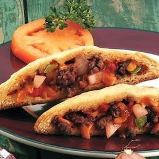 Barbecue Beef and Potato Turnovers