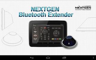 Screenshot of NextGen BT Extender for Tablet
