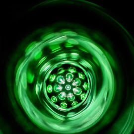 green circle by Dee Dot - Abstract Light Painting