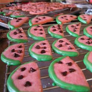 Watermelon Cookie