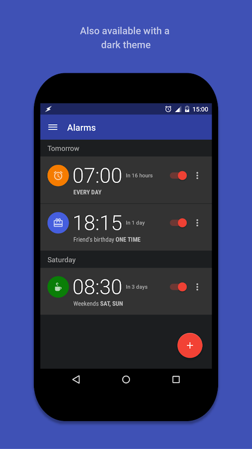 AlarmPad - Alarm clock PRO Screenshot 7