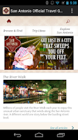 Screenshot of San Antonio Official Guide