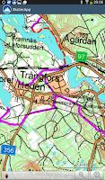 Screenshot of Snowmobile Navigator Sweden