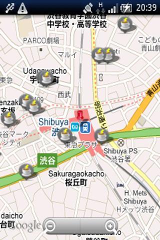 電源マップ