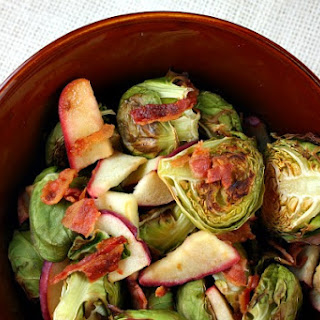 Brussels Sprouts w/ Bacon & Apple