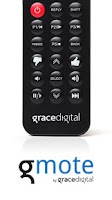 Screenshot of Grace Digital Remote Control