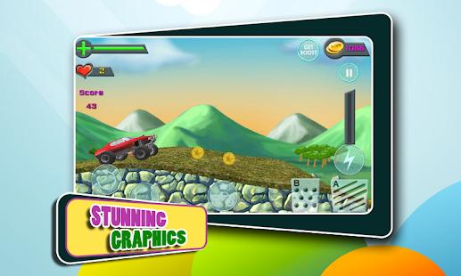 Hill Climbing Monster Car Race v1.7 Free Upgrades скачать бесплатно.