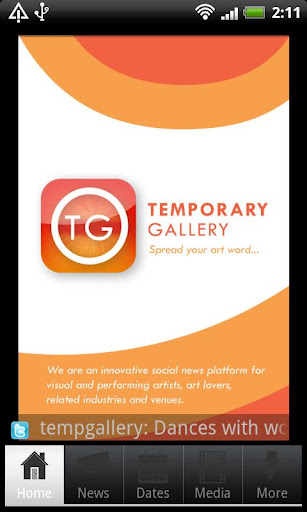 Temporary Gallery