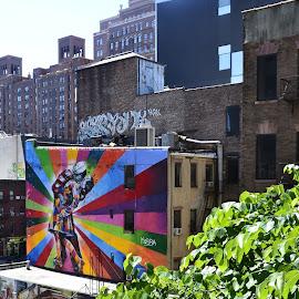 by Franz Xaver Zach - City,  Street & Park  Neighborhoods ( Urban, City, Lifestyle )