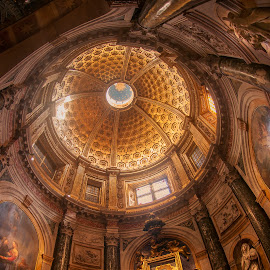 Cathedral in Siena, Italy by Christian Diboky - Buildings & Architecture Places of Worship ( altar, tuscany, toscana, church, chapel, siena, saint, santa maria assunta, cattedrale, cathedral, gold, madonna del voto chapel, italy, light )