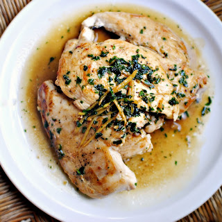 Seared Chicken Breast with Lemon Herb Pan Sauce