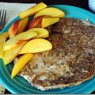 Egg White and Oatmeal Protein Pancake