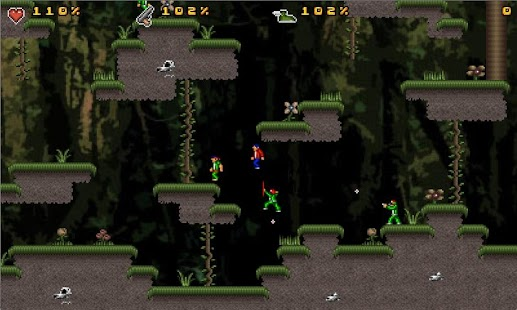 Jungle Mayhem Lite - screenshot