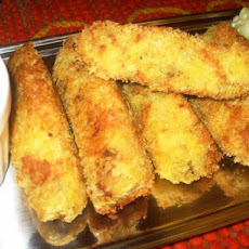 Korroke with Tonkatsu Sauce (Japanese Potato Croquettes with Eas