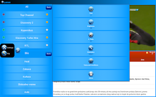 Screenshot of DSTV