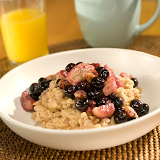 Fruit & Nut-topped Oatmeal