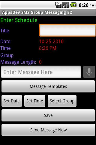 【免費通訊App】SMS Group Messaging E-2 - en-APP點子