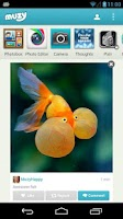 Screenshot of Muzy - Share photos & collages