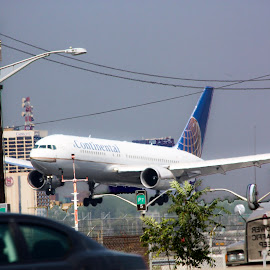 Jet in the slow lane by Linda Antenucci - Transportation Airplanes (  )
