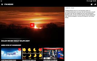 Screenshot of VTM NIEUWS
