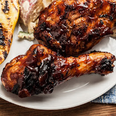 Bourbon-Bacon BBQ Chicken Recipe