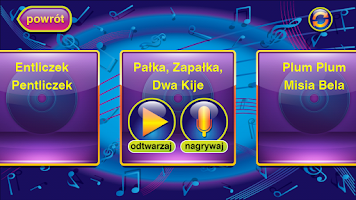 Screenshot of Śpiewanki - Karaoke dla dzieci